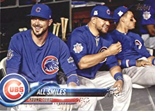 2018 Topps Baseball Series 2#529 Kris Bryant/Kyle Schwarber Chicago Cubs Combo Cards (Checklist) Official MLB Trading C