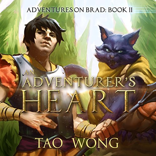 An Adventurer's Heart: Book 2 of the Adventures on Brad audiobook cover art