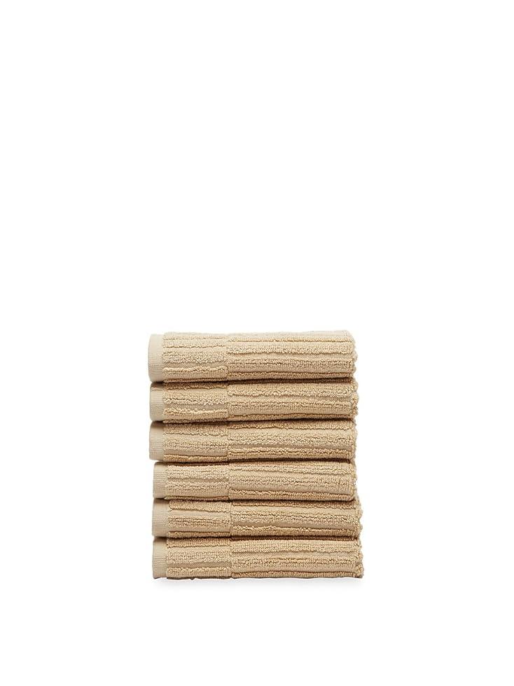 解釈重要な瞑想するChortexオックスフォード% 100トルコ綿Washcloth ,セットof 6 13Wx13L CHOX6WC