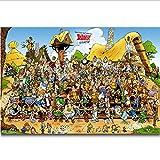 tgbhujk Asterix Frankreich Klassische Comic Alle Charaktere