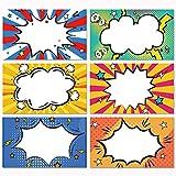 200 Superhelden-Namensschilder für Schule, Büro,...