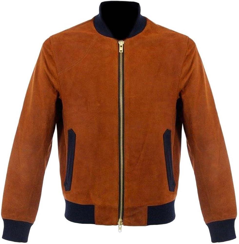 coolhides Men's Fashion Bomber Style Jacket