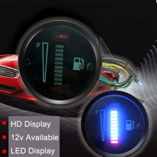 Ugthe 12V Auto Car Motorcycle LED Light Display Fuel Level Meter Gauge Vehicle Parts