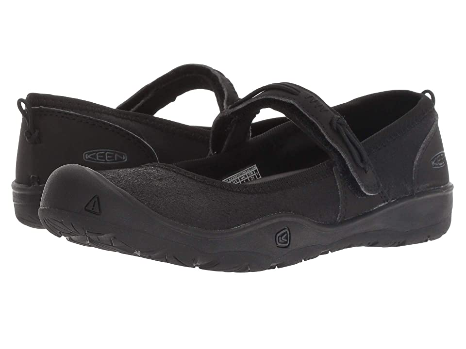 Keen Kids Moxie Mary Jane (Little Kid/Big Kid) (Black/Jet Black) Girl