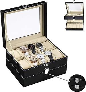 fossil 10 piece watch box