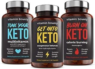 Vitamin Bounty Keto Essentials Bundle