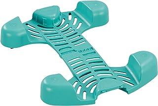 Leifheit Chariot de nettoyage sols pratique à roulettes Clean Twist, quatre roulettes 360°, stabilité et mobilité, compati...