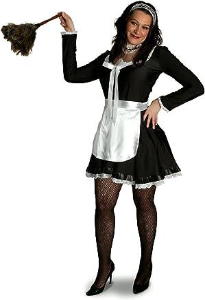 3d0172f1e8 Sunnywood Women s Plus-Size Lava Diva Chambermaid Costume
