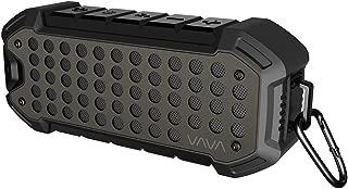 Bluetooth Speaker, 24 Hour Loud Wireless Speaker VAVA VOOM 23 Outdoor Rugged Portable Speaker (IPX6 Weatherproof, Dual Bluetooth 4.1 & 3.5 mm AUX Port, 5200mAh)