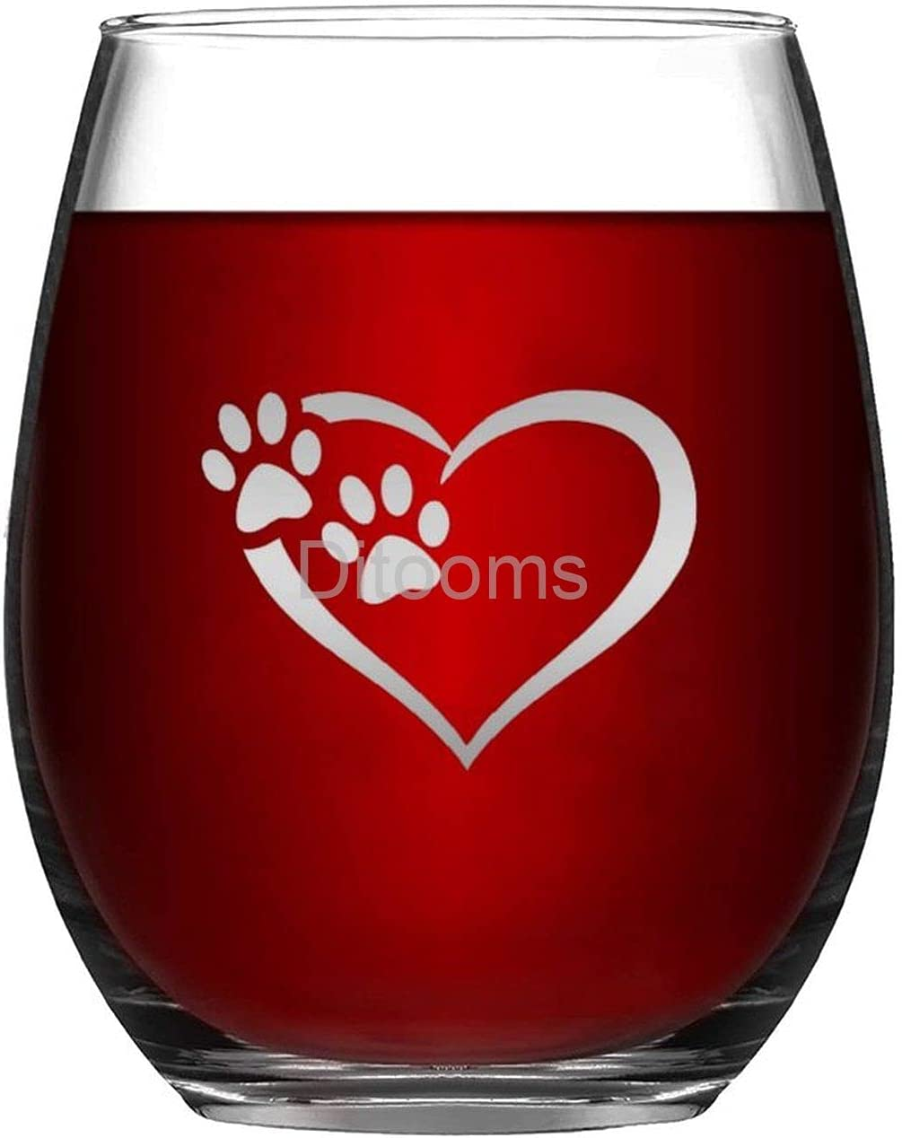 Funny Stemless Wine Glass Love Glasses for Bi Party Wedding Genuine Today's only
