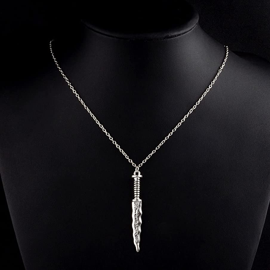 CanB Boho Dagger Necklaces Chain Jewelry for Women Girls