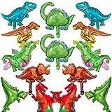 BESTZY Dinosaurio Globo 14pcs Mascota Foil Balloons Globos Pelotas Sets De Decoración para Fiesta Bodas Decoracion de Fiesta de Cumpleanos Regalo de ninos