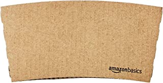 AmazonBasics Kraft Cup Sleeve for 10 and 12oz paper cup, 1,000-Count