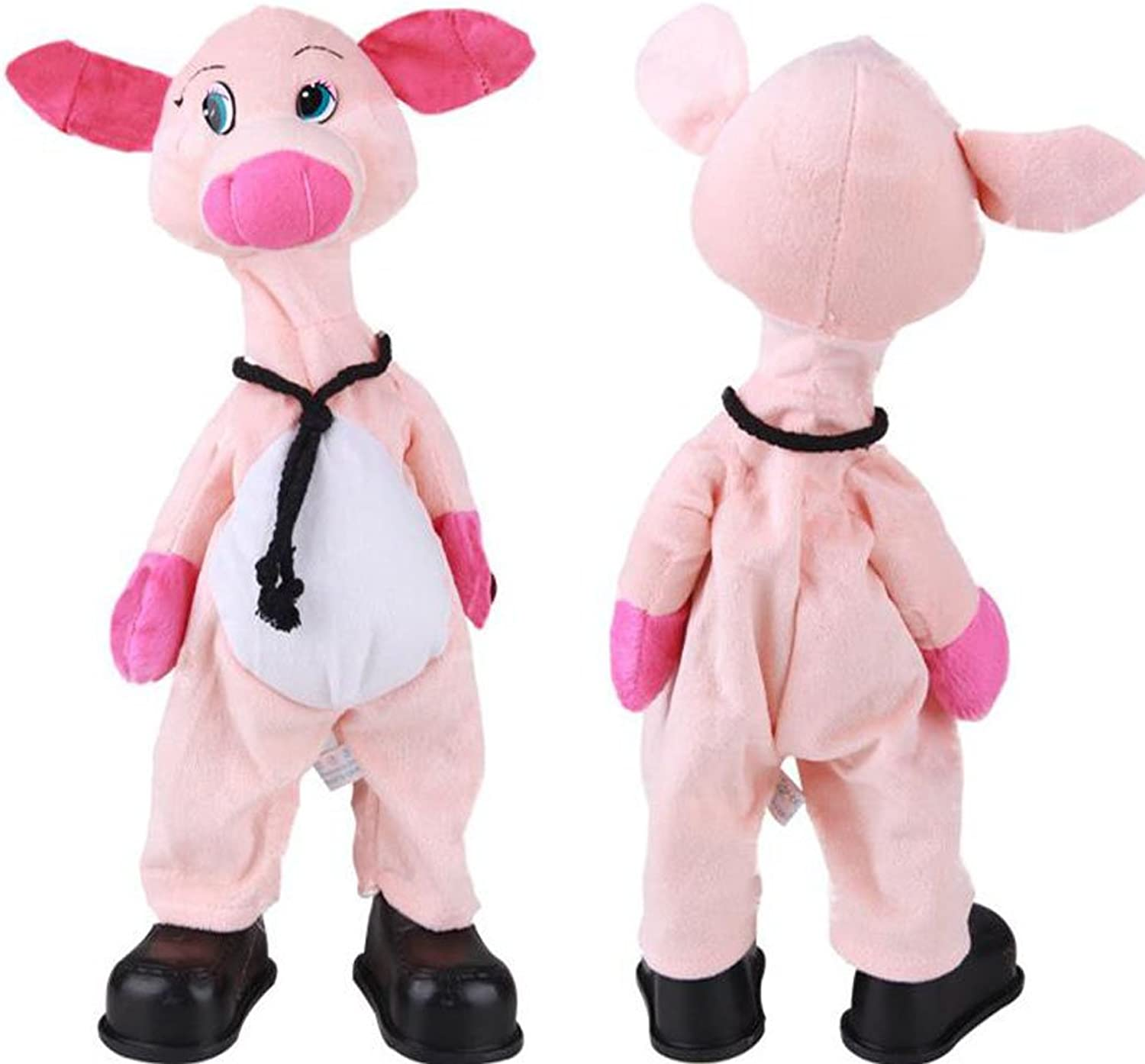 Funny Musical Dancing Electronic Stuffed Pig Bobbleheads Practical Jokes Toys