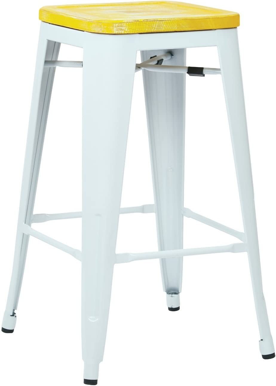 OSP Home Furnishings Bristow Antique Metal Free shipping anywhere in the nation with favorite Vintage Barstool