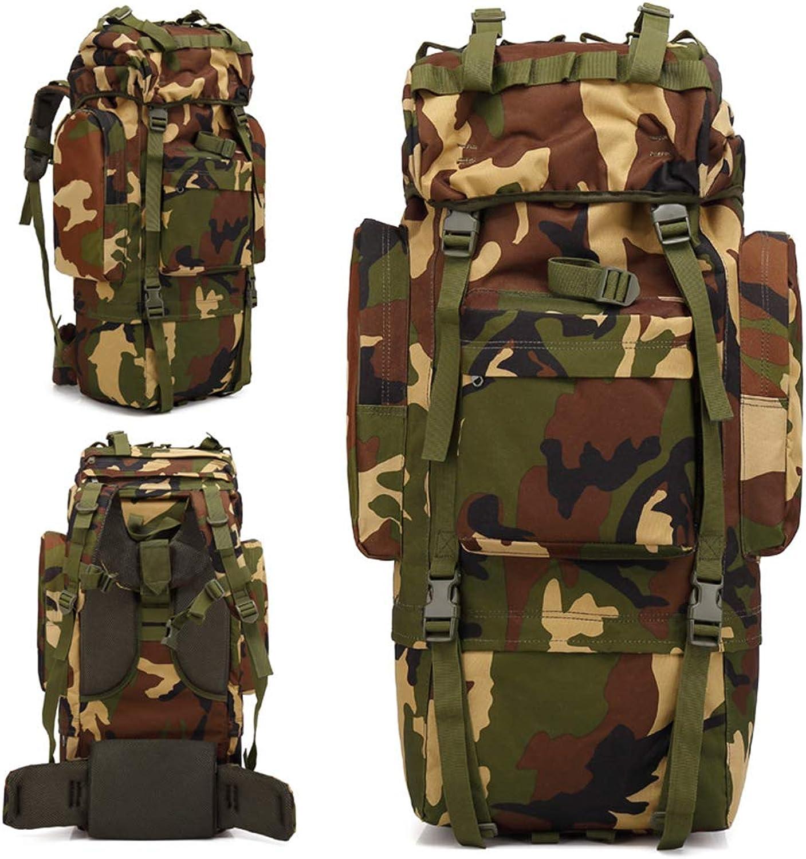 GXQ 65L interner Rahmen-Rucksack-taktischer militärischer Rucksack für das Wandern der Tasche (Camouflage) B07P6K6FVN  Moderne Technologie