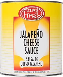 TableTop King Muy Fresco Jalapeno Nacho Cheese Sauce #10 Can