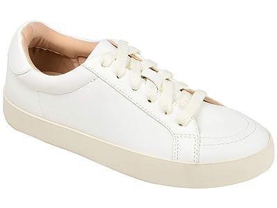 Journee Collection Comfort Foamtm Edell Sneaker (White) Women
