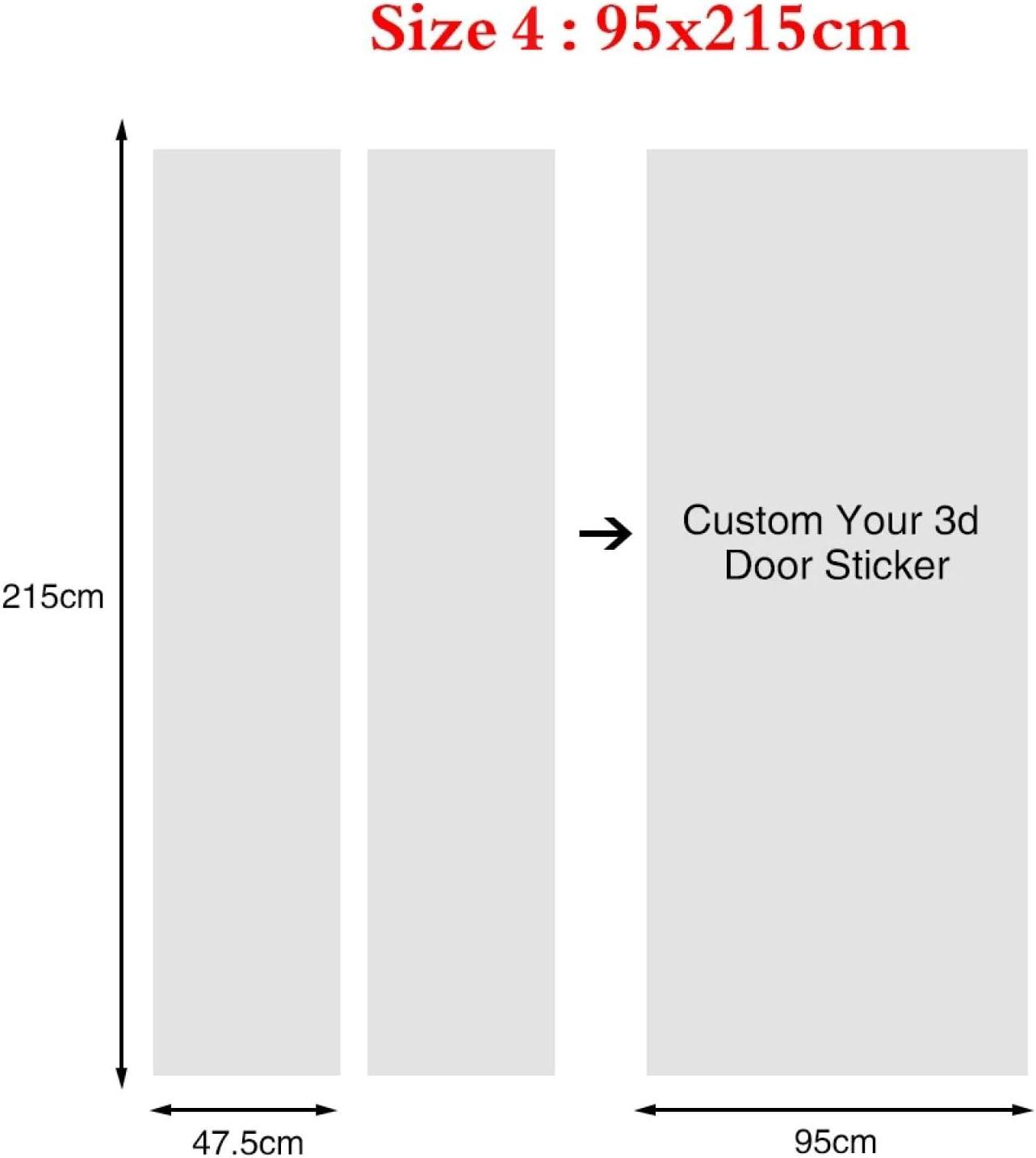 und Ozeanholzleiterlandschaft 77x200cm T/üraufkleber f/ür Badezimmer-Innent/üren Wasserdicht selbstklebend 3D Baby Jungen Kinder M/ädchen Kinderzimmer Schlafzimmer To 3D T/ür Kunst Aufkleber Wandbild Berg