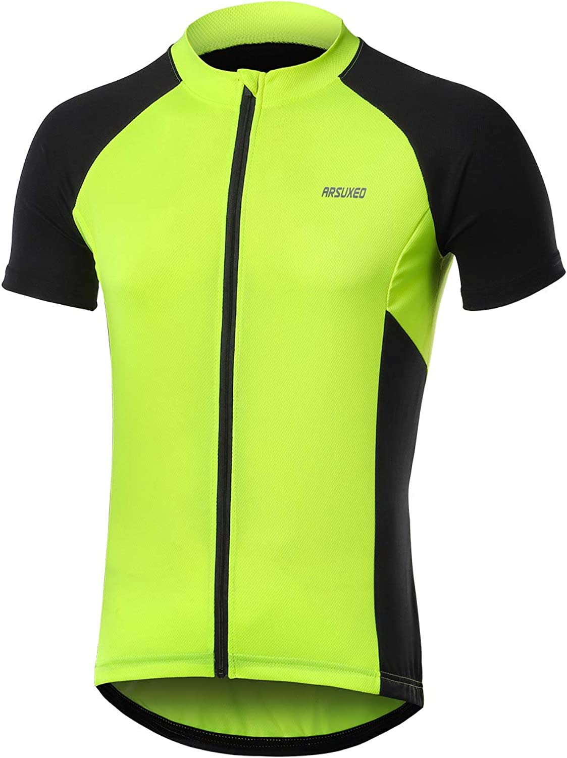 ARSUXEO Men's Short Sleeves Cycling Bicycle Bike Jersey Shir Max Brand Cheap Sale Venue 77% OFF MTB