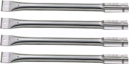 Hisencn 4-Pack Replacement Stainless Steel Pipe Burner for Char Broil, Charmglow, Costco Kirkland, Grand Isle, Jenn Air, Kenmore Sears, K Mart, Member's Mark, Nexgrill, Perfect Flame by Lowes