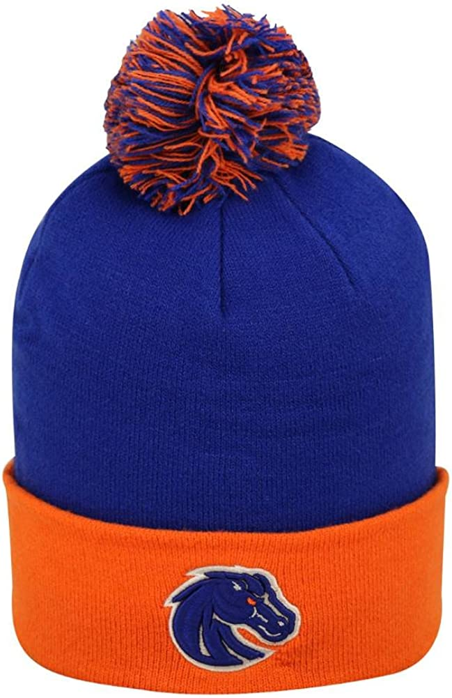 Boise State Boys Blue Orange Broncos Hat Outlet ☆ Free Shipping Beanie Kansas City Mall Winter