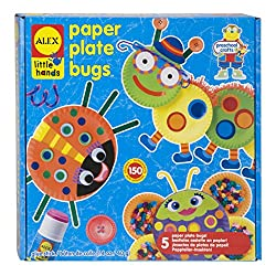 paper plate bugs craft kit