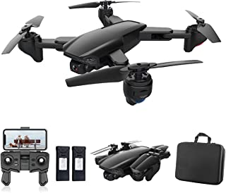 PWTAO Drone with Camera 4K FPV RC Quadcopters Drones with Camera for Adults 2.4GHz Remote / Phone / APP Controlled HD Came...