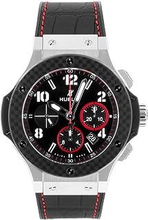 [ウブロ] HUBLOT 腕時計 301.SQ.1437.GR.TAK15 ビッグ・バン スティール SS/ブラックラバー [中古品] [並行輸入品]