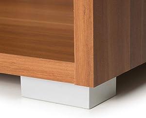 Deuba Libreria Scaffale Vela 5 ripiani 190cm Effetto Noce marrone mobile casa ufficio soggiorno camara da letto