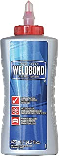 Weldbond Glue, 14.2oz, Multi-Purpose, White, Low VOCs