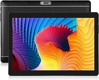 BENEVE 10.1インチAndroidタブレット (10.1インチHDディスプレイ)2GB RAM + 32GB ROM、Bluetoothおよび2.0 + 5.0MPデュアルカメラ、日本語対応 - 黒 (Black01) …