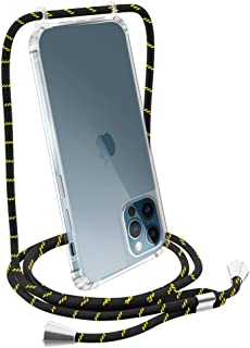 iPhone 12 Pro Max Lanyard Case, Full Body Anti-Fall and Universal Adjustable Neck Rope Crossbody Phone Case Compatible wit...