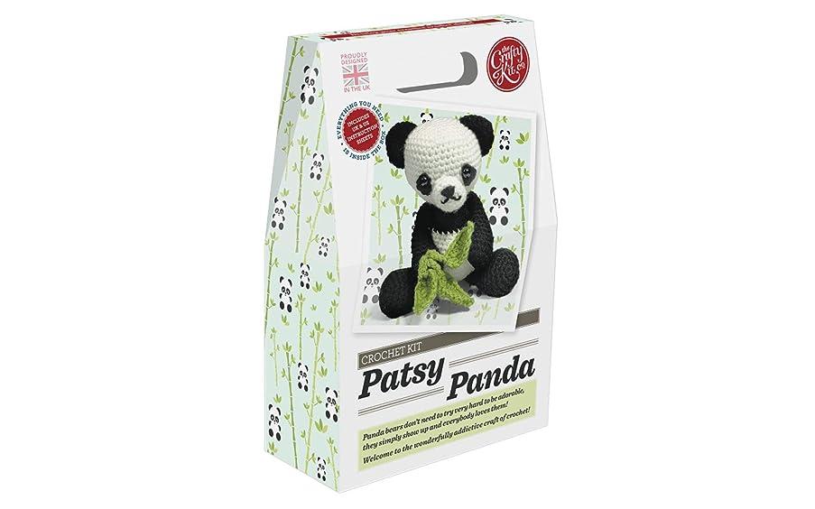 Crafty Kit Company CKC-CK-043 Crochet Kit Patsy Panda
