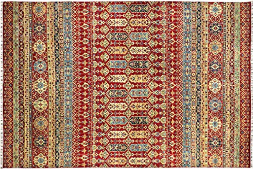 Teppichprinz Alfombra oriental Afghan Ziegler Khorjin 356 x 277 hecha a mano,...