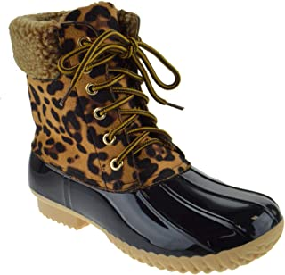 Best cheetah duck boots Reviews