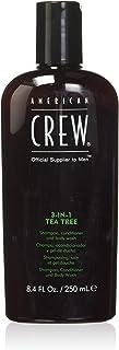 American Crew 3-In-1 Tea Tree Shampoo Conditioner Body Wash for Men 8.4 oz Shampoo Conditioner Body Wash