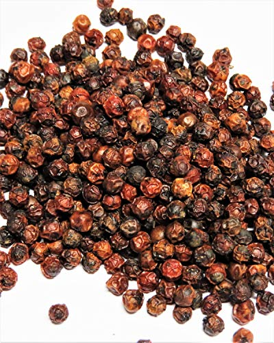 50g Pfeffer Pondicherry Rot aus Indien -