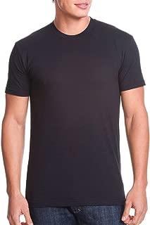 Men's Baby Rib Collar Premium CVC T-Shirt