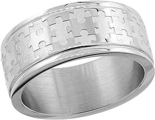 mens puzzle wedding bands