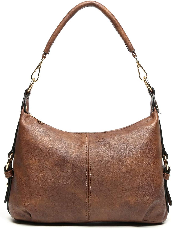 Small Hobo Handbag for Women Top Max 77% OFF Ladies PU Crossbody Handle Bag Max 64% OFF