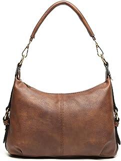 Small Hobo Handbag for Women Top Handle Crossbody Bag Ladies PU Leather Shoulder Purse + Katloo Nail Clipper