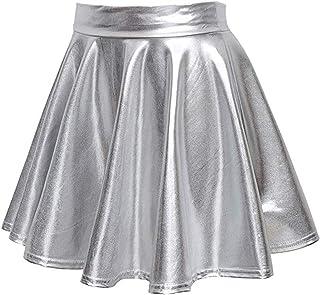 Time Sense Fashion Women Floor-Length Dress, Women Elegant Long/Short Sleeve Bohemian Style Floral Polka Dot Print Dress Slim High Waist Party Beach Dress