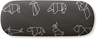 Abstract Origami Animal Geometric Shape Gl Case Eyegl Hard Shell Storage Spectacle Box