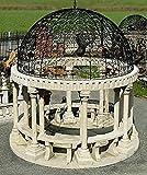 pompidu-living Pergola, Gartenhaus, Pavillon, Laube, Pergolen, Farbe Sandstein