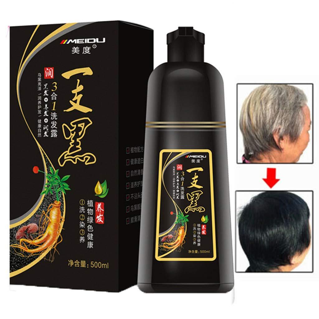 Leadmall Instant Black Hair Shampoo