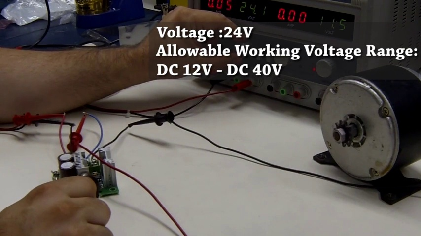 Makermotor 12vdc PWM Motor Speed Controller with Reverse Polarity Protection 10A Plus DPDT Reverse Switch