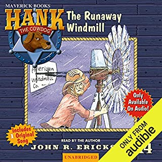 The Runaway Windmill audiobook cover art