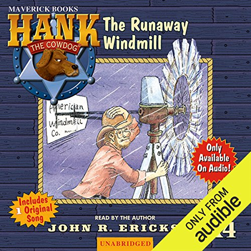 The Runaway Windmill audiobook cover art