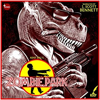 Zombie Park audiobook cover art